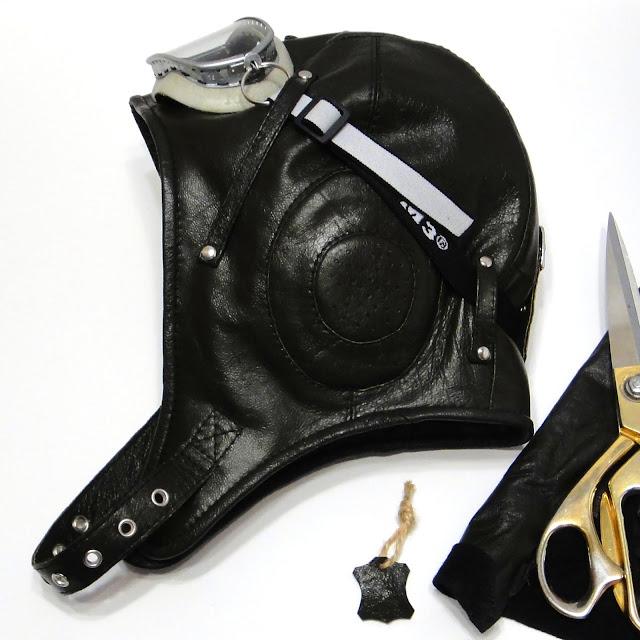 Шлем летный кожаный - шапка шлем демисезонный вариант, натуральная кожа и синтепон. Объем головы - на усмотрение заказчика, доставка почтой или курьером
