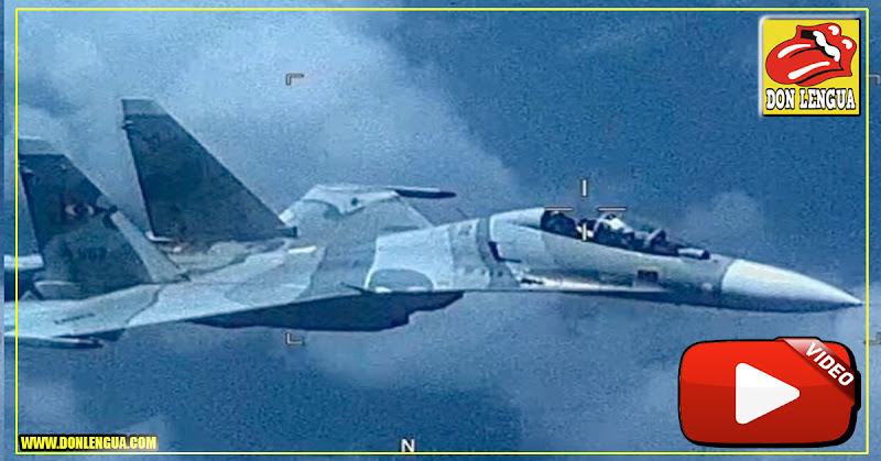 Comando Sur asegura que un Sukhoi venezolano agredió a un avión de su Fuerza Aérea