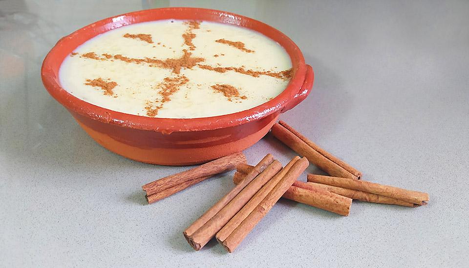 receita arroz doce cremoso