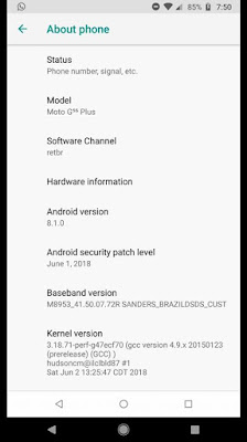Moto G5s Plus Oreo Updates How To ? Motorola Moto G5s Plus Oreo