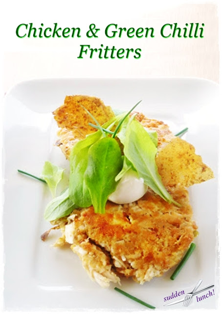 chicken-fritters