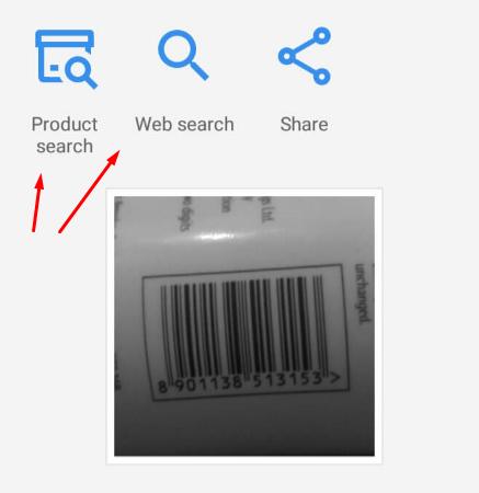 QR Code Bar Code  Scan