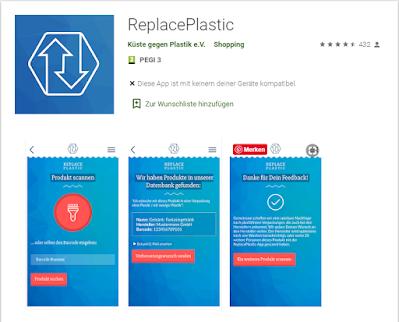 Screenshot ReplacePlastic