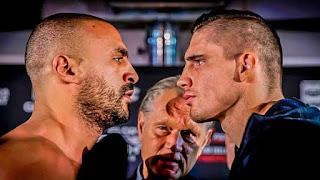 نتيجة نزال بدر هاري وريكو امس بطولة الملاكمة نزال القرن