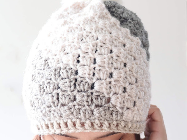 Don't Be A Square Beanie - Free Crochet Pattern
