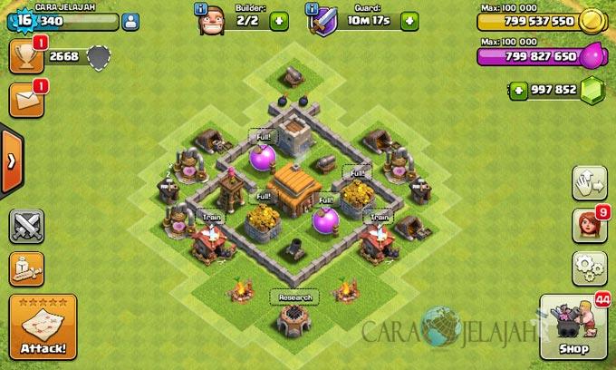 Desain Base Town Hall 3 Terbaik Dan Terbaru Clash Of Clans 32