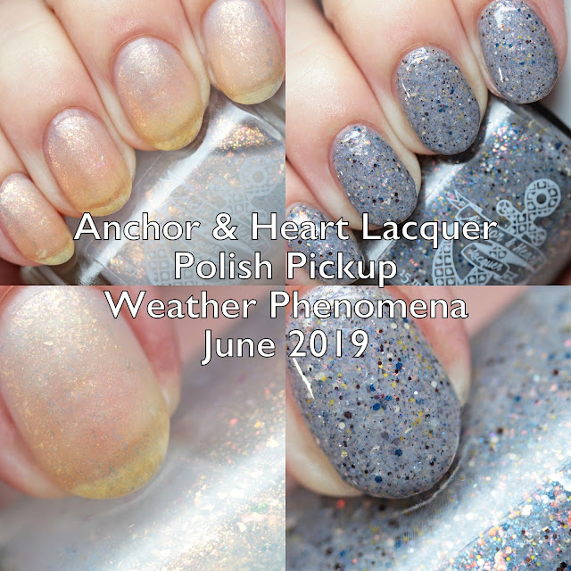 Anchor & Heart Lacquer Polish Pickup Weather Phenomena June 2019