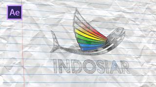 Cara Membuat Efek Lukisan Pensil Pada Logo di After Effects