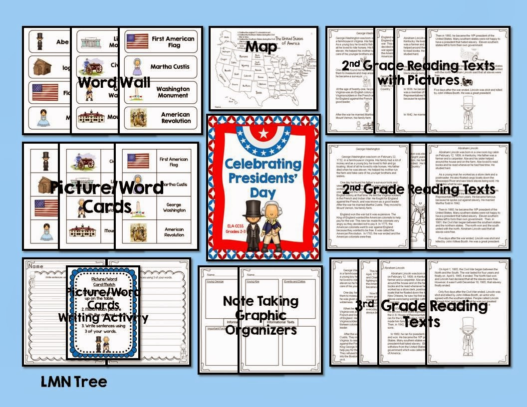 Lmn Tree Presidents Day Free Resources Activities