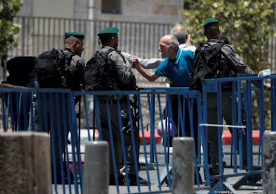 Sécurité accrue et lieu saint fermé après l'attaque de Jérusalem dans - DROIT a9