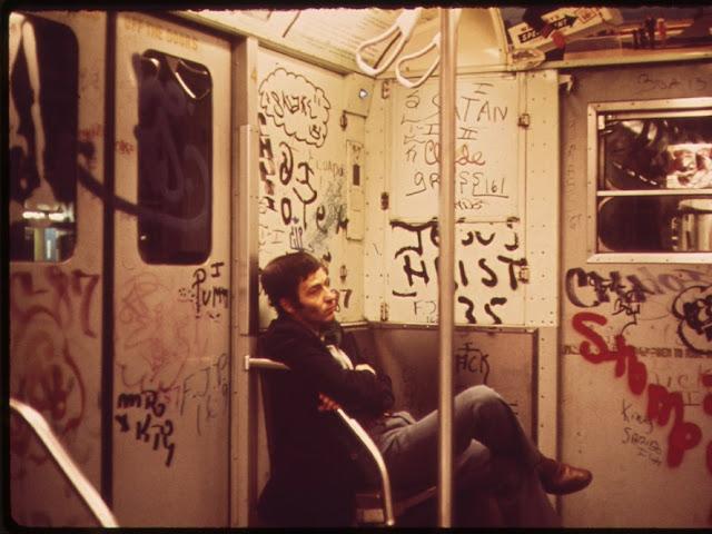 Los graffitis del metro de Nueva York en los 70 y los 80