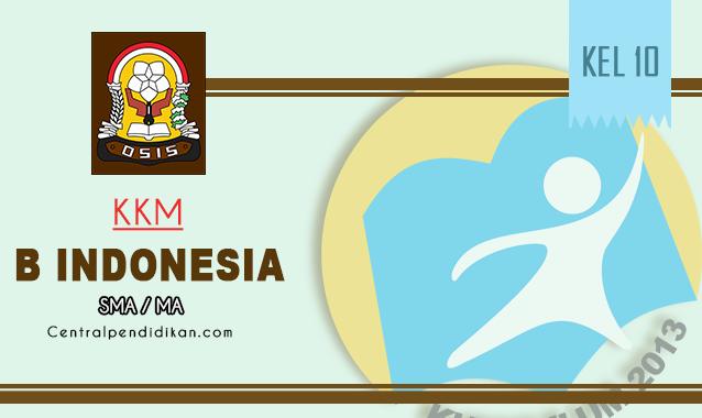 KKM Bahasa Indonesia Kelas 10 SMA