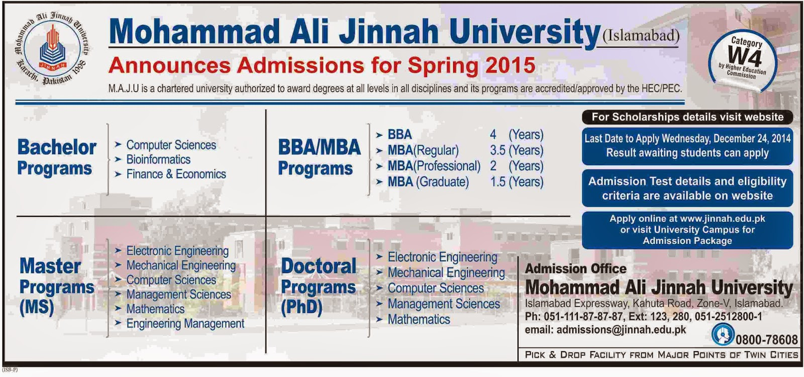 maju spring admissions