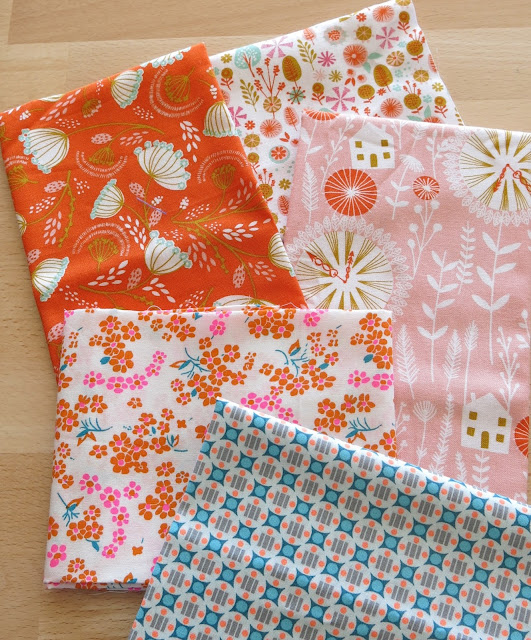 Petit Pan fabrics and Cuckoo's calling by Dashwood studio
