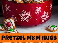 Pretzel M&M Hugs