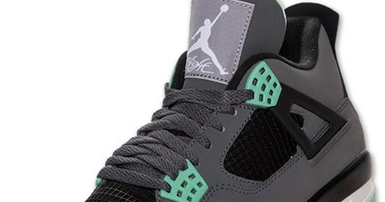 b3ea81207d5c ajordanxi Your  1 Source For Sneaker Release Dates  Air Jordan 4 Retro Dark  Grey Green Glow-Cement Grey-Black Release Reminder
