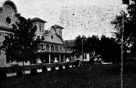The Hotel Was Used To House Troops Who Were Testing Military Aircraft At Airport Located In Perry Complex Destroyed By Fire 1954