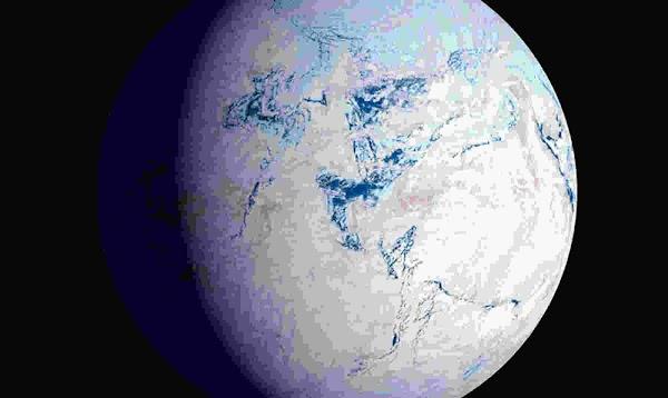 La tierra puede ser de nuevo una gran enorme bola de nieve.