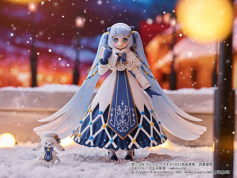 Character Vocal Series 01: Hatsune Miku - figma Snow Miku: Glowing Snow ver. (Max Factory)