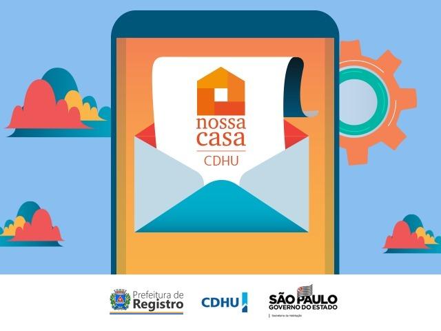 Prefeitura de Registro-SP convoca últimos suplentes de titulares da categoria POPULAÇÃO GERAL do Programa Nossa Casa