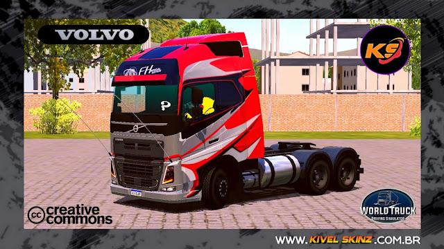 VOLVO FH16 750 - GRAFITADA VERMELHA