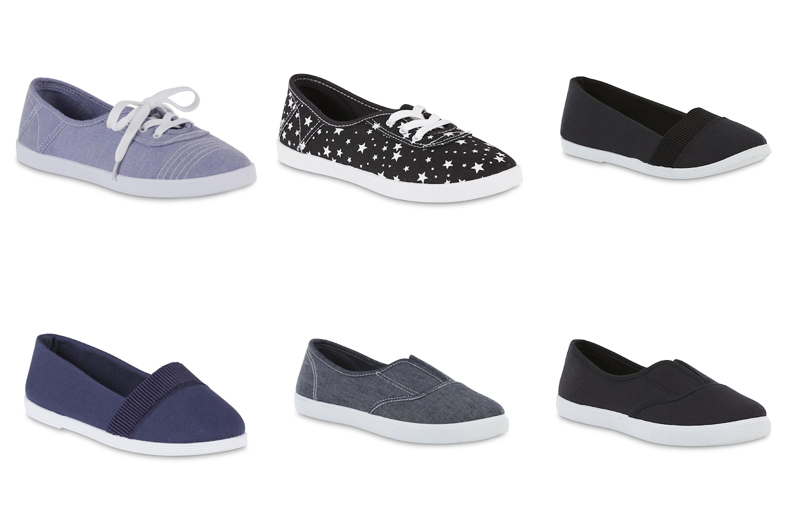 5ea8670300f DEAL IDEA (2)  Buy (2) Basic Editions Women s Sneakers Flats of your choice  to cart  5.99