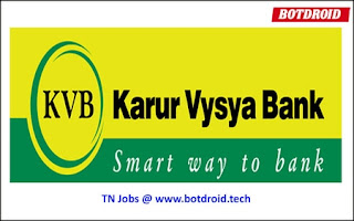 karur vysya bank recruitment 2020