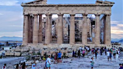 The Parthenon in Athens - Photo by Cat Bauer