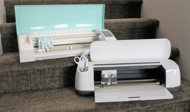 Deciding between which cutting machine to buy can be a difficult choice.  Check out our comparison of the Cricut vs. Silhouette cutting machines and see which will fit your needs better.