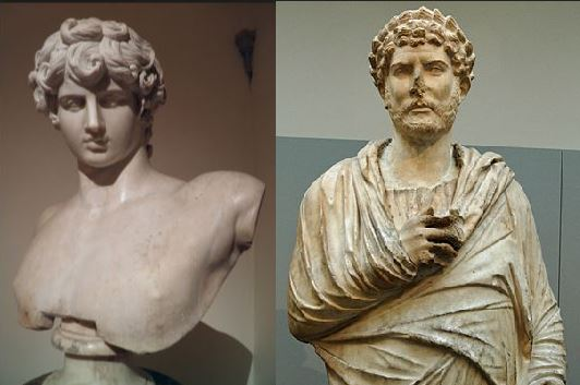 Antinous and Hadrian
