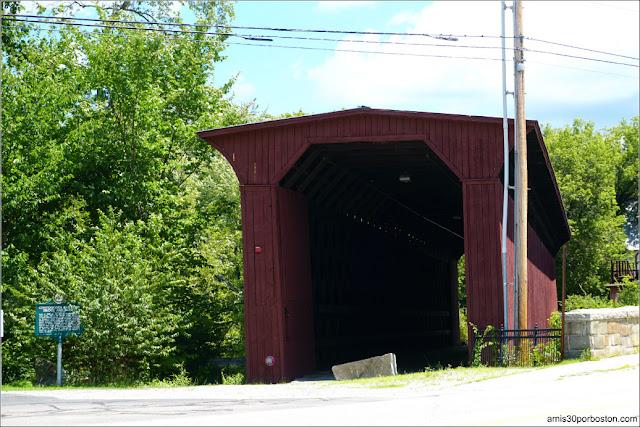 Puente Cubierto Contoocook Railroad Bridge, New Hampshire