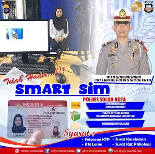 Smart SIM Sudah Tersedia di Polres Solok Kota, Ini Kelebihannya