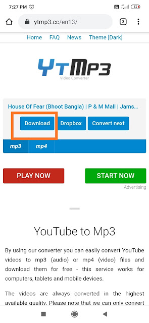 download songs in mp3 format from youtube