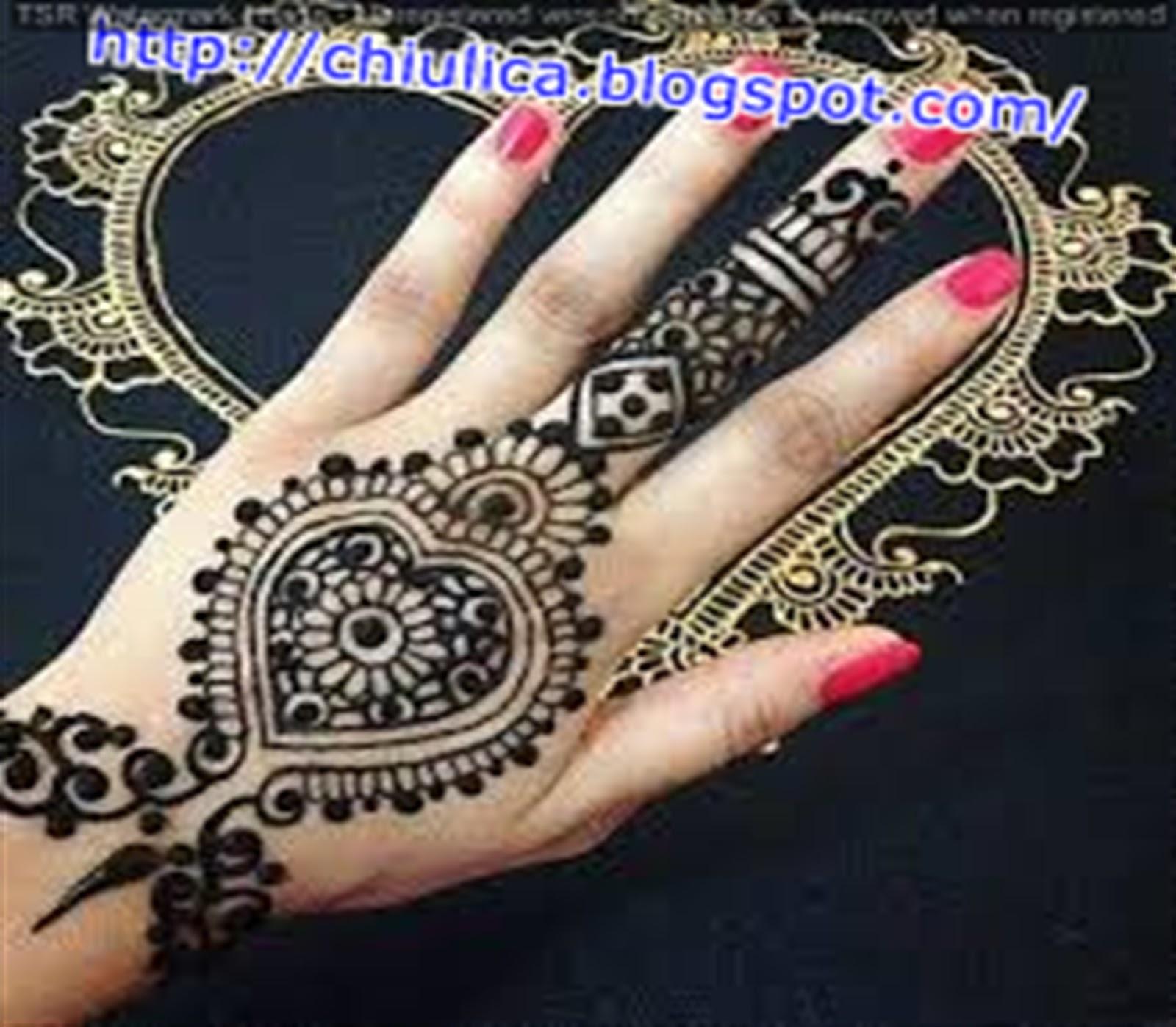 55+ Gambar Henna Tangan Dan Kaki Yang Mudah, Koleksi Istimewa!