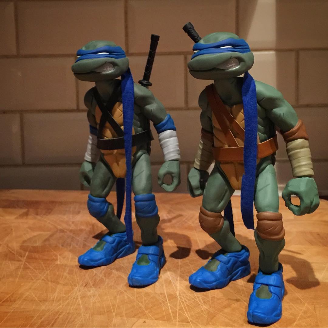The Blot Says Teenage Mutant Ninja Turtles Leo Resin Figure By