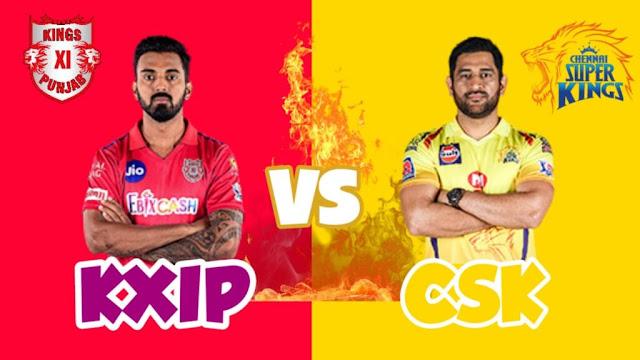 CSK VS KXIP Dream 11 Match 53 1 Nov 100% The Dream Team Winning Prediction IPL 2020