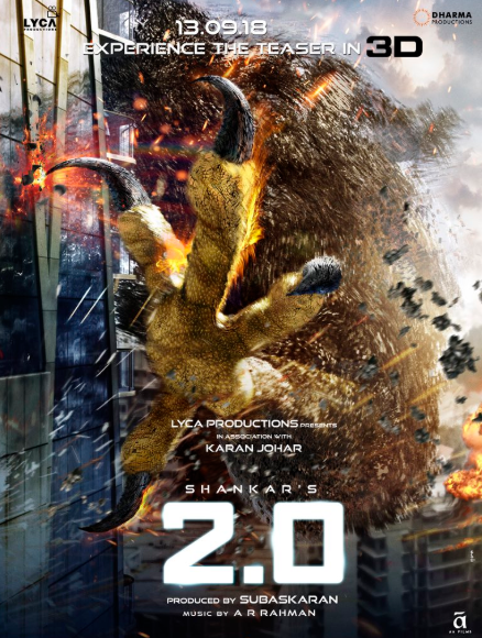 2.0 budget and box office prediction