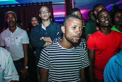 Fans at African Muzik Magazine launch