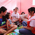World Vision Ambassador Bianca Umali Visits Children Affected by Taal Volcano Eruption