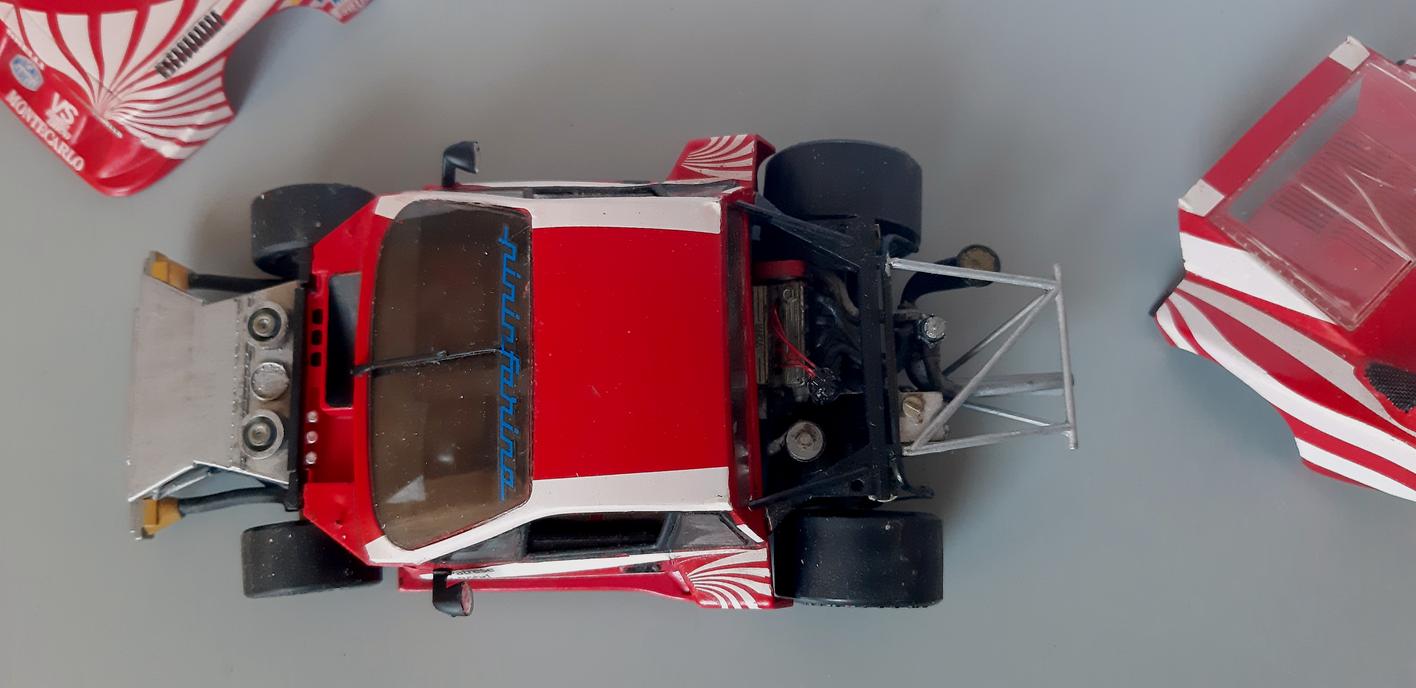 Lancia Montecarlo Gr 5 - Ready For Inspection