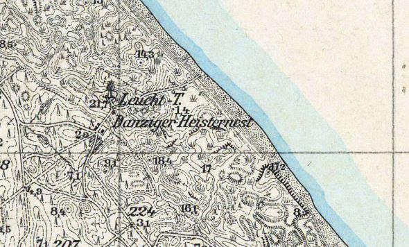 16232 @ Topographische Karte 1:25 000 (Meßtischblatt) cz. wschodnia (Ostdeutschland) /1870 - 1945/