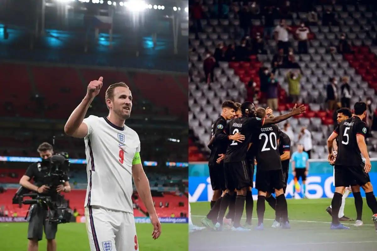 ملخص مباراة انجلترا والمانيا اليوم