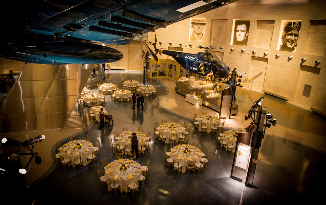 National Museum Of The Marine Corps Wedding Venue