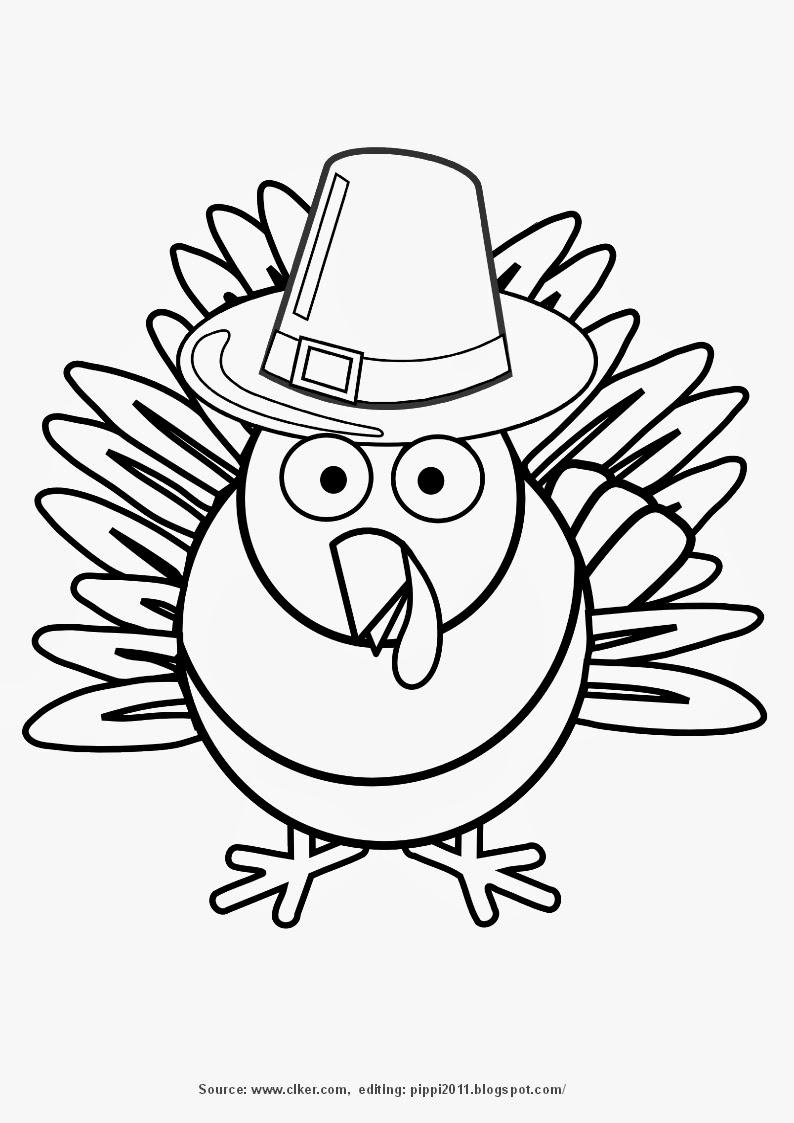 Thanksgiving Day Printable Coloring Pages - Minnesota Miranda