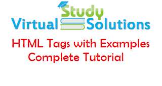 CS101 - HTML Tags with Examples Complete Tutorial