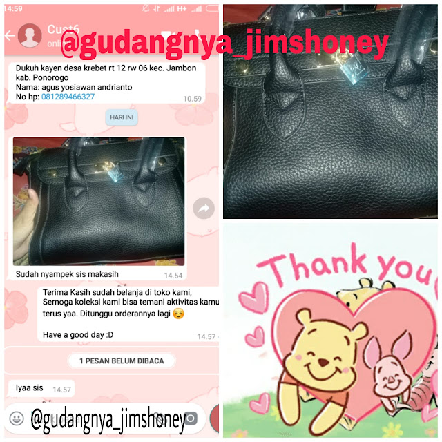 Testimoni Tas Jimshoney Tiffany Bag