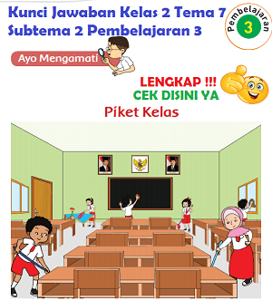 Kunci Jawaban Kelas 2 Tema 7 Subtema 2 Pembelajaran 3 www.simplenews.me