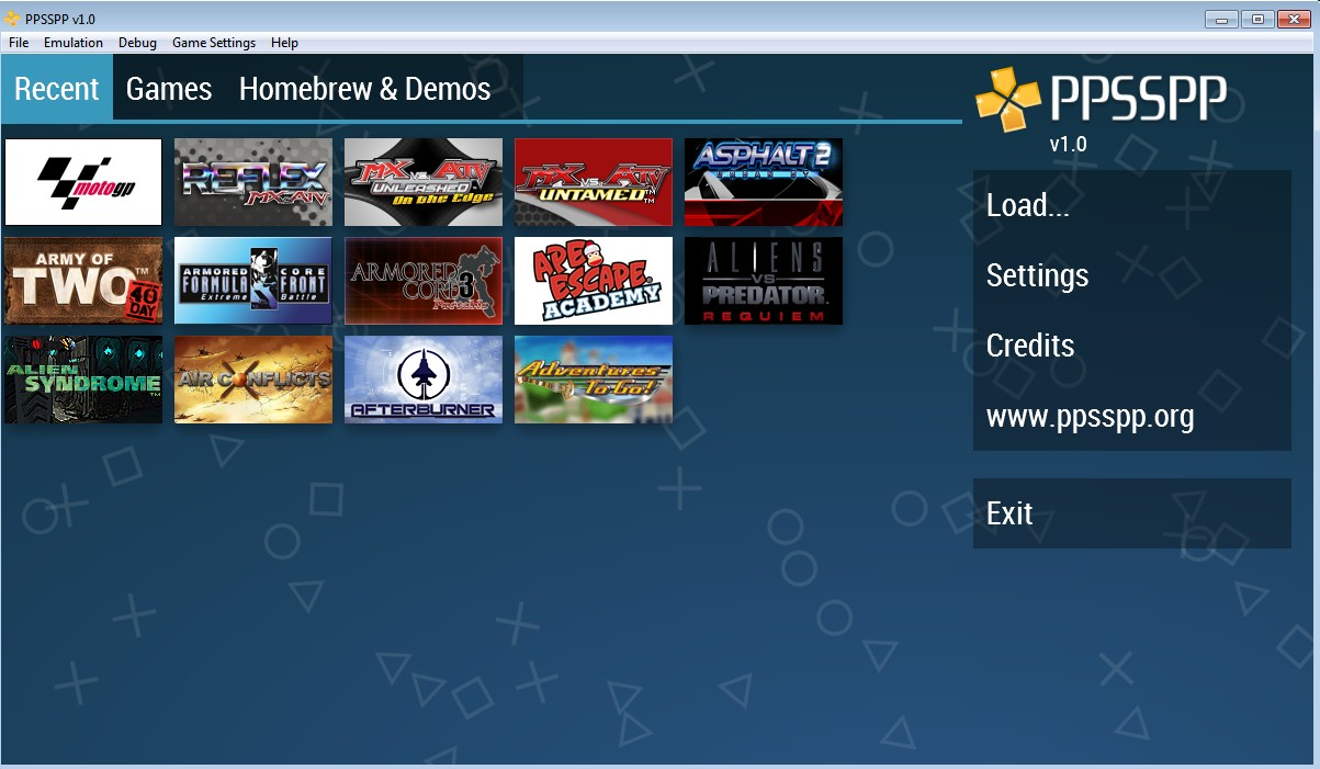 download ppsspp for windows 7