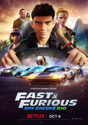 Fast & Furious Spy Racers 2019 (Season 3) All Episodes HDRip 720p