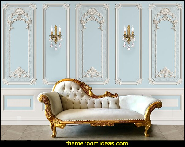 marie antoinette bedroom furniture french chaise lounge crystal chandelier